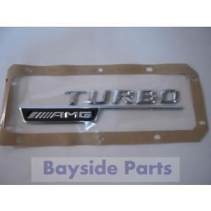 ベンツ フェンダー エンブレム「TURBO AMG」 右 A45 GLA45 CLA45 1768170415 純正品|baypar