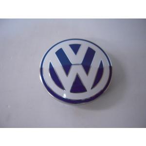 VW ホイールセンターキャップ ブルー/ホワイト 純正 1個 1C060117109Z|baypar
