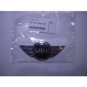 純正 MINI R56フロント ボンネット エンブレム 51142754972|baypar