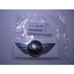 MINI 純正 R50 R52 R53 R56 R57 F56 リアエンブレム 全車種(R55 R58~R61除く) 51147026186|baypar