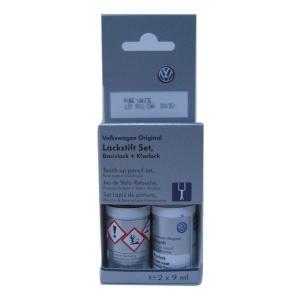 VW アウディ 純正タッチアップペン/タッチペン カラー グレイシアホワィトメタリック カラ-コ-ド S9R LST0M2S9R|baypar