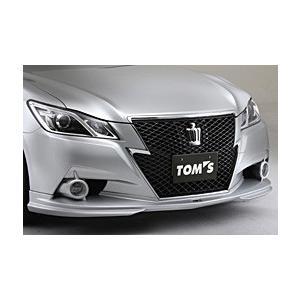 トムス フロントスポイラー トヨタ クラウンGRS214 GRS210 アスリート 未塗装品 FRP製  bayroad-shop
