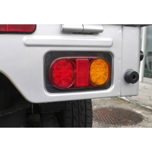 LEDテールランプ カーボンパネル【キャリィ DA16T スズキ】左右セット AR SPORT bayroad-shop