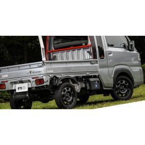 オーバーフェンダー9mm【ハイゼットトラック ジャンボ S500P/S510P】フロント・リアセット リベットデカール20個付き 軽トラカスタム|bayroad-shop