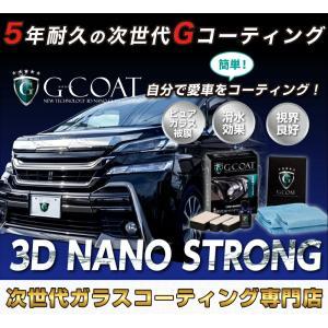 ガラスコーティング剤 車 ボディー用3Dナノストロング 1台分 高滑水 本物 洗車  bayroad-shop