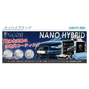 ガラスコーティング剤 車 ボディー用ナノハイブリッド 1台分 高滑水 本物 洗車  bayroad-shop