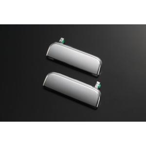 車 メッキドアハンドル 交換タイプ ハイゼット ハイゼットジャンボ S500P S510P S200 左右セット|bayroad-shop