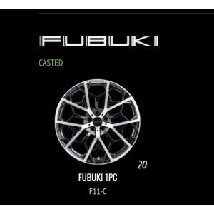 WALD・ホイール【FUBUKI・フブキ】ブラック/ポリッシュ 20インチ F11-C / FUBUKI 1PC CASTED  4本セット |bayroad-shop