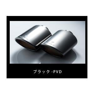 サイドマフラー左右出し ブラック-PVD・オーバル117W ランドクルーザーURJ202W 後期 H27.8〜 WALD|bayroad-shop