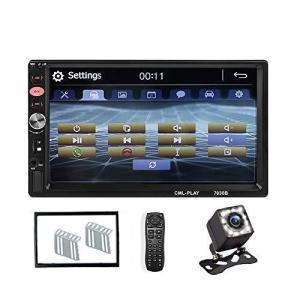 MiCarBa カーオーディオ 2din ミラーリンク Bluetooth 7インチ GPS Bluetooth カーステレオ 2din 車載DVD|bayspring