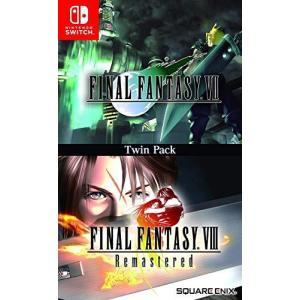 Final Fantasy VII & VIII Remastered Twin Pack - (Nintendo Switch) (輸入版)|bayspring