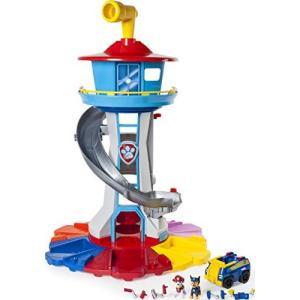 パウパトロール おもちゃ マイサイズ ルックアウト タワー 回転ペリスコープ ライト&サウンド アクションビークル|bayspring