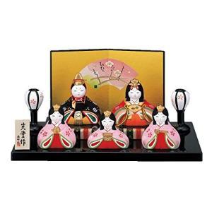 桃の節句 ひな人形 錦彩 華みやび 雛(平飾り) 2450|bayspring