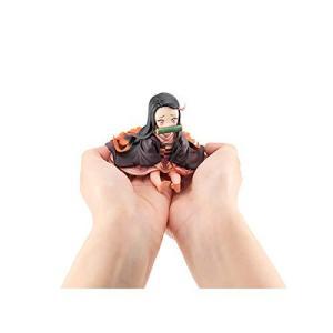 G.E.M.シリーズ 鬼滅の刃 てのひら禰豆子ちゃん 約65mm PVC製 塗装済み完成品フィギュア|bayspring