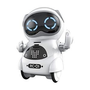 ポケットロボット Pocket Robot 知育教育 英語練習 ロボットおもちゃ 日本語説明書付き 手のひらサイズ コミュニケーションロボット ダンス|bayspring