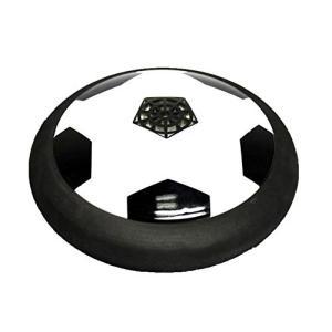 COM-SHOT 【 新感覚 室内 スポーツ 】 エアー ホッケー 【 サッカー ボール 模様 】 LED ライト フル セット MI-SOCCER0|bayspring