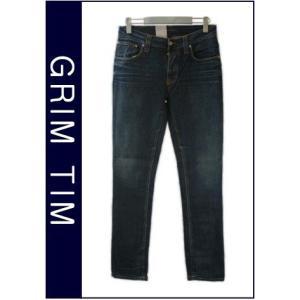 ヌーディージーンズ Nudie Jeans GRIM TIM USED BROWN WEFT グリムティム スリムストレートレッグ ジーンズ デニム ボトム パンツ レングス34|bayswater|04