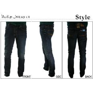 ヌーディージーンズ Nudie Jeans GRIM TIM USED BROWN WEFT グリムティム スリムストレートレッグ ジーンズ デニム ボトム パンツ レングス34|bayswater|06
