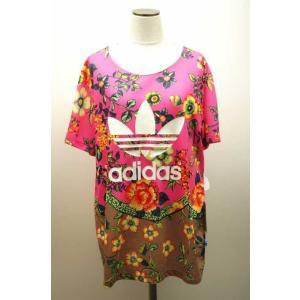 adidas originals(アディダスオリジナルス) BF RELAXED TREFOIL TEE Tシャツ J OT ピンク レディース【バズ|bazzstore