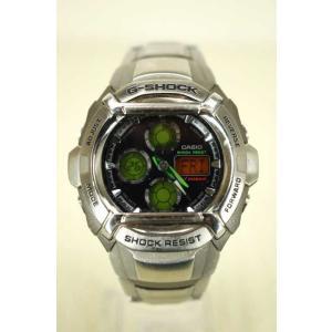 G-SHOCK(ジーショック) 腕時計 カラーダイアル ショックレジスト 三つ折れ式中留 表記無 シルバー × オレンジ × グリーン メンズ【バズス|bazzstore