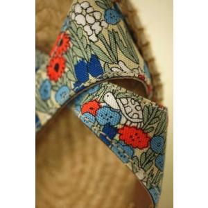 Calzanor × Marble Sud (カルザノール×マーブルシュッド) サンダル レディース サイズ37 コビトフラワー 花柄ウエッジソールサ|bazzstore|04