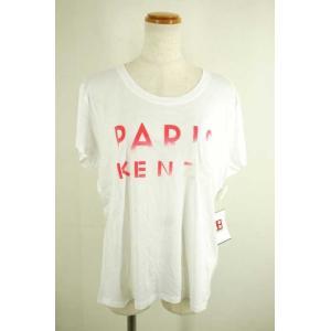 KENZO(ケンゾー) ボートネックTシャツ レディース サイズL Paris Kenzo Tシャツ 中古 ブランド古着バズストア 090118|bazzstore