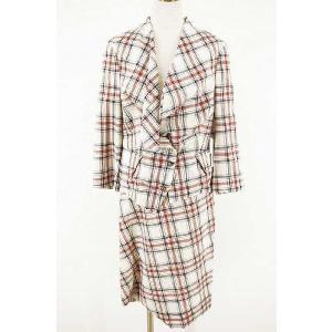 Vivienne Westwood RED LABEL(ヴィヴィアンウエストウッドレッドレーベル) セットアップ オーブボタン ジャケット&スカート|bazzstore