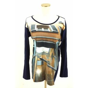 MM6(エムエムシックス) Tシャツ・カットソー レディース サイズ表記無 12SS ブランドロゴフォトプリントカットソー 中古 ブランド古着バズスト|bazzstore