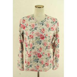 COMME des GARCONS(コムデギャルソン) Tシャツ・カットソー レディース サイズXS 16AW 花柄ロングスリーブカットソー 中古 ブ|bazzstore