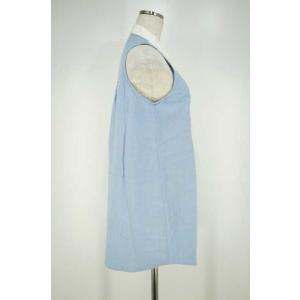 ダブルスタンダードクロージング DOUBLE STANDARD CLOTHING シャツ レディース サイズF ノースリーブシャツワンピース 中古 ブ|bazzstore|04