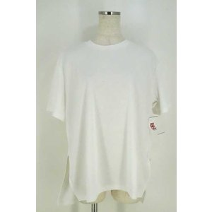 CLANE (クラネ) Tシャツ・カットソー レディース サイズ2 17SS SIDE SLIT OVER T-SHIRT カットソー 中古 ブランド|bazzstore