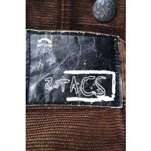2-tacs(ツータックス) ワークパンツ メンズ サイズS コーデュロイワークパンツ 中古 ブランド古着バズストア 020917|bazzstore|03