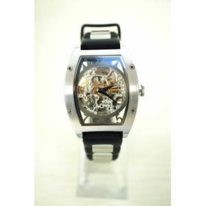d91a92c6d9 アルカフトゥーラ arca futura 自動巻き腕時計 メンズ サイズ表記無 アルカフトゥーラ メカニカルスケルトン 中古 ブランド古着バズストア