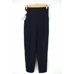 ENFOLD(エンフォルド) 2016 Pantalones Tapered パンツ 36 ネイビー レディース【バズストア 古着】【中古】 【110 bazzstore