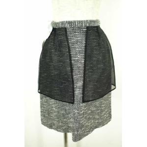 ANREALAGE(アンリアレイジ) 16AW NOISE LAYERED SKIRT スカート サイズ[36] スカート【中古】【ブランド古着バズス bazzstore