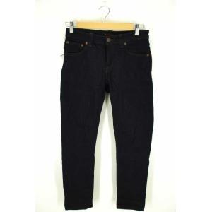 Nudie Jeans(ヌーディージーンズ) デニムパンツ SKINNY LIN 29/32 ネイビー レディース【バズストア 古着】【中古】 【24 bazzstore