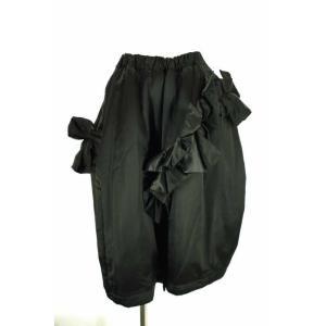 COMME des GARCONS(コムデギャルソン) AD2016 フリル付きデザインスカート サイズ[XS] スカート【中古】【ブランド古着バズス bazzstore