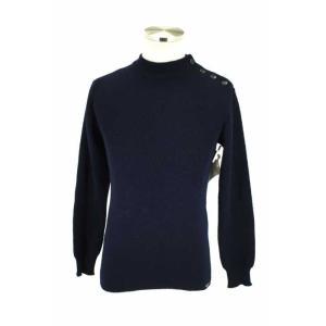 SAINT JAMES(セントジェームス) ニット・セーター メンズ サイズ32 ショルダーボタンウールニットセーター 中古 ブランド古着バズストア bazzstore