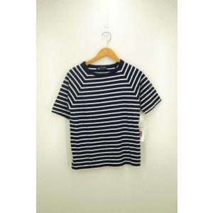 メンズ クルーネックTシャツ セントジェームス SAINT JAMES サイズUS:36 ボーダー柄...