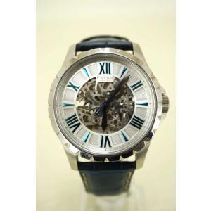 フルボデザイン FURBO DESIGN 両面スケルトン 時計 自動巻き腕時計 メンズ  中古 ブラ...