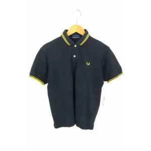 メンズポロシャツ フレッドペリー FRED PERRY サイズJPN:S 月桂樹刺繍半袖ポロシャツ ...