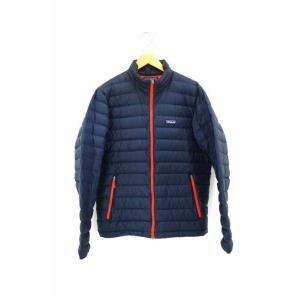 125007595040e パタゴニア patagonia ダウンジャケット メンズ サイズJPN:M SP15 ダウンセーター 中古 ブランド古着バズストア 150419