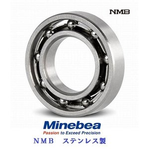 3x6x2 ミネベア ベアリング DDL-630 オープン NMBステンレス