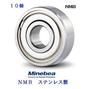 10個入り 3X10X4 DDR-1030ZZ ステン ミネベア  ボール ミニチュアベアリング
