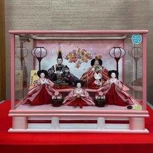 雛人形 おしゃれ ひな人形 吉徳大光 322-552 ケース飾り 送料無料 bb-yamadaya
