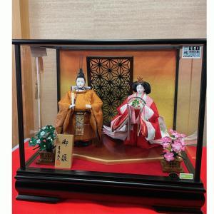 雛人形 おしゃれ ひな人形 吉徳大光 322-554 ケース飾り 送料無料|bb-yamadaya