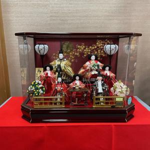 雛人形 おしゃれ ケース飾り コンパクト 吉徳大光 322-990 ひな人形 送料無料 bb-yamadaya