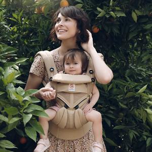 セール 抱っこ紐 新生児 コンパクト 抱っこひも エルゴ オムニ 360 OMNI クールエアー Cool Air 日本正規品 2年保証 送料無料 デザート|bb-yamadaya