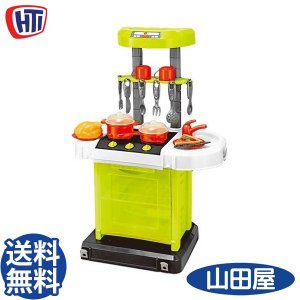おもちゃ クックンゴーキッチン 調理器具 おままごと 食材 クッカー HTI エイチティーアイ 送料無料|bb-yamadaya