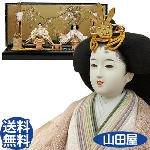 雛人形 親王飾り ひな人形 平飾り コンパクト 藤匠 後藤由香子 後藤人形 さくら sakura 送料無料|bb-yamadaya